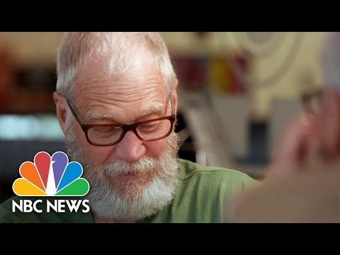 David Letterman: What's With The Beard? | On Assignment | NBC News