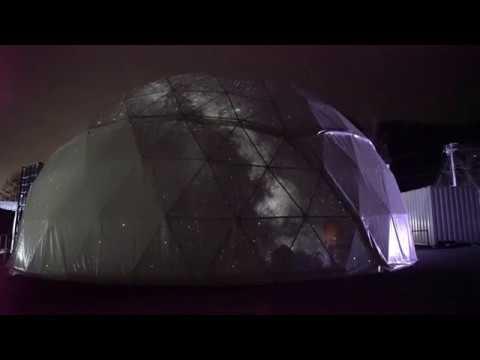プラネタリウムMEGASTAR用新型ドーム公開