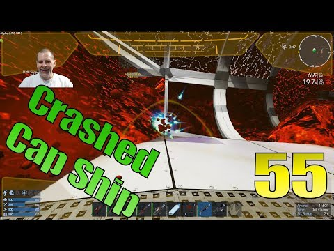 Lift Plays Empyrion S8E55 - Excavating the Crashed Capital Ship