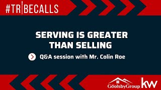 #Tribecalls: Serving is Greater than Selling
