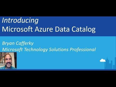 How to Use Azure Data Catalog