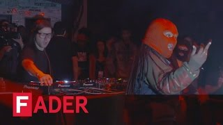 "Skrillex, ""Fuck the summer up""  (ft. Leikeli47) - Live at The FADER FORT Presented by Converse"