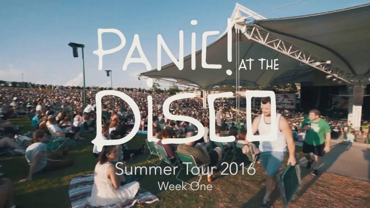 Panic At The Disco Summer Tour 2016 Week 1 Recap Youtube Linkis Com