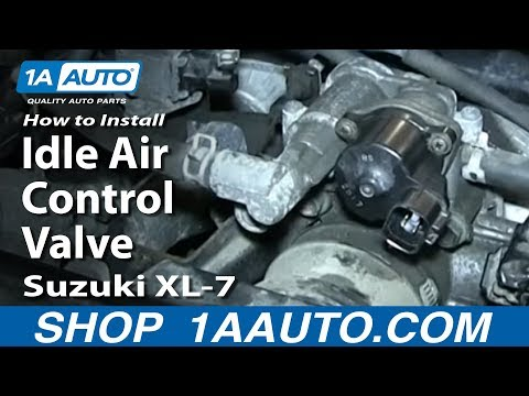 How To Replace Idle Air Control Valve 98-06 Suzuki XL-7