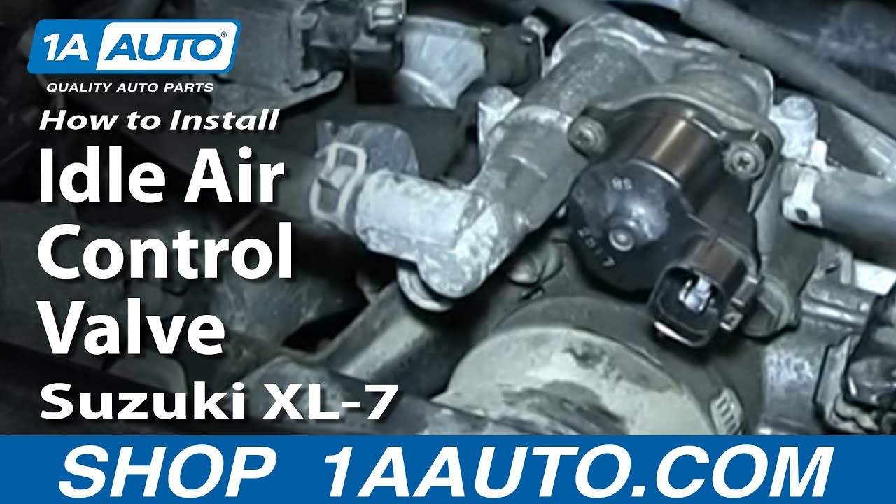 hight resolution of how to replace idle air control valve 98 06 suzuki xl 7