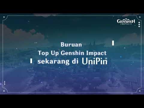 TUTORIAL TOP UP GENSHIN IMPACT DI UNIPIN
