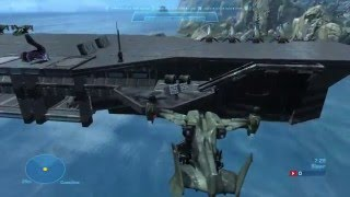 Halo Reach - Aircraft Carrier - Absoutely Best Ever!! AMAZING!!!