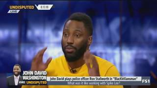 John David Washington Joins Undisputed 🔴To Talk LeBron & a RING in L.A. | UNDISPUTED 8/13/2018