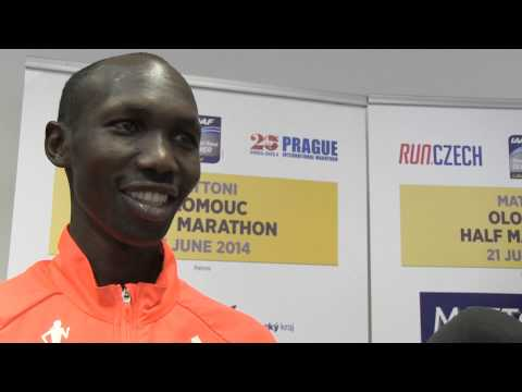Interview with Edna Kiplagat and Wilson Kipsang