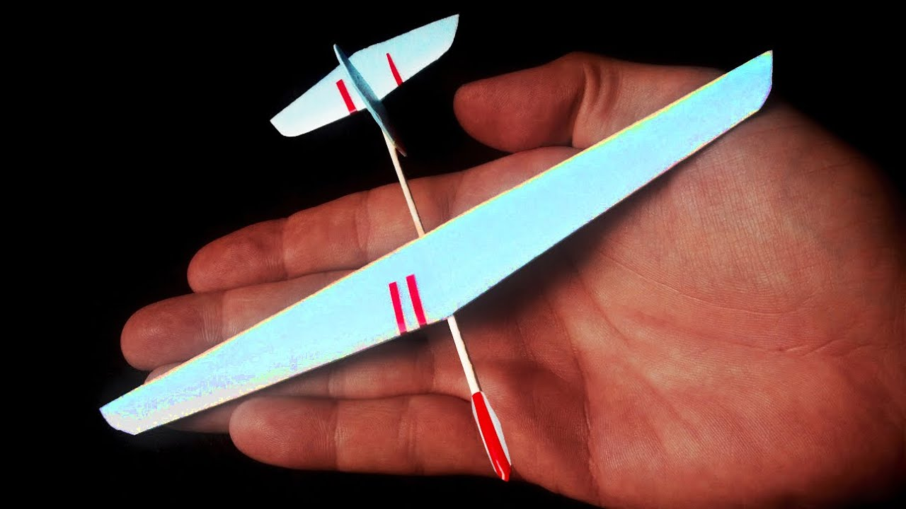 Styrofoam glider - Micro DLG plane WHAT?? - YouTube