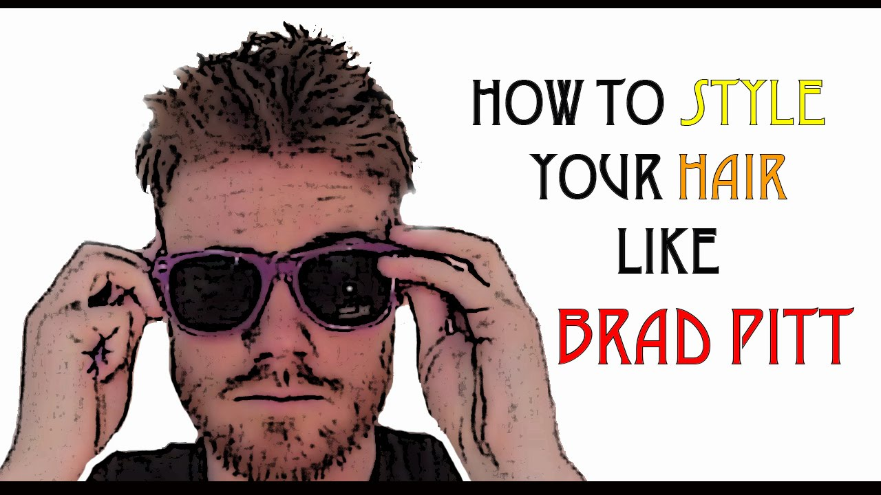 how to style your hair like a greaser how 2 cut your own hair like brad pitt diy faux hawk 7280