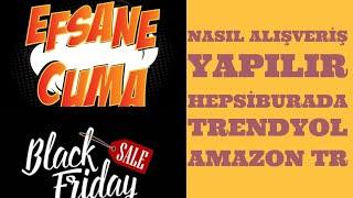 Black Friday - Efsane Cuma- yılın indirimi internet alisverisi