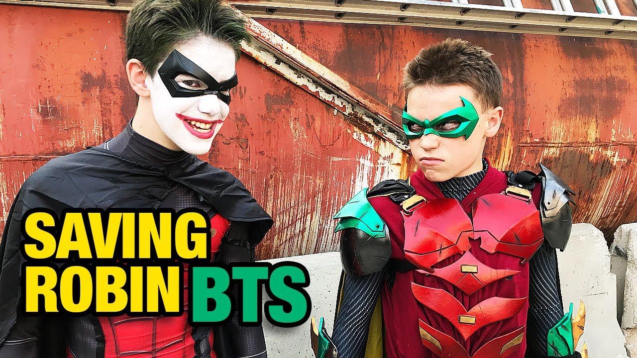 Download Ninja Kidz Saving Robin from the Joker - BTS