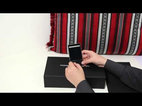 مراجعة وعرض لجهاز Blackberry Porsche P9983