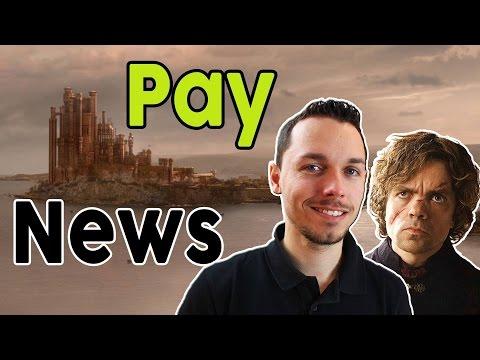 PayNews #12 - Hacker-Angriff auf PSN & Co & Game of Thrones-Synchronsprecher
