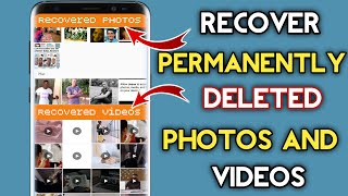 How to Recover Deleted Videos, Photos on Android using ONE Tool! 2021 Method screenshot 4