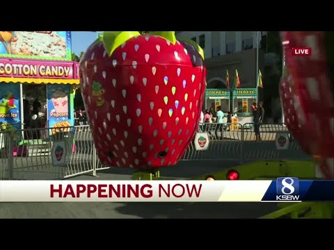 Large Security Presence Seen At Day 1 Of Watsonville Strawberry Festival