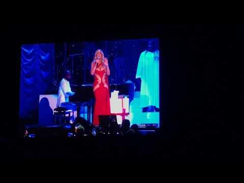 Mariah Carey - Manchester Bombing Tribute & Joy To The World Intro - MEN Arena - Dec 10