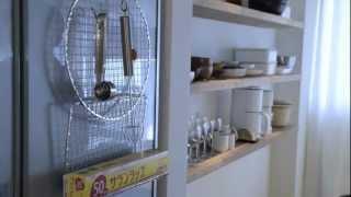 Repeat youtube video 100均グッズde収納アイデア_焼き網ラップホルダー | 99Cent DIY Storage Idea - Make a Foil/Cling Film Dispenser