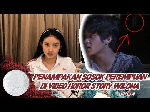 PENAMPAKAN SOSOK PEREMPUAN DI VIDEO HORROR STORY WILONA
