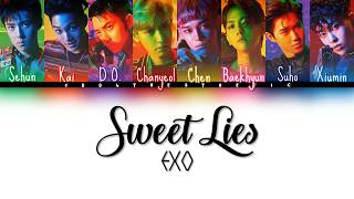 EXO (엑소) - Sweet Lies Color Coded Han/Rom/Eng Lyrics