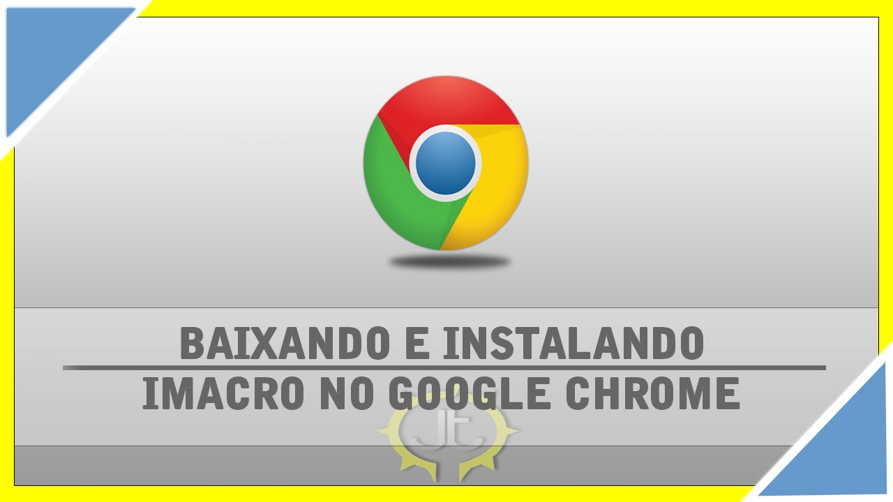 Como Baixar instalar Imacro no Google Chrome - YouTube