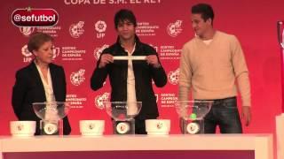 La Selección española protagonista en el Sorteo de la Copa del Rey