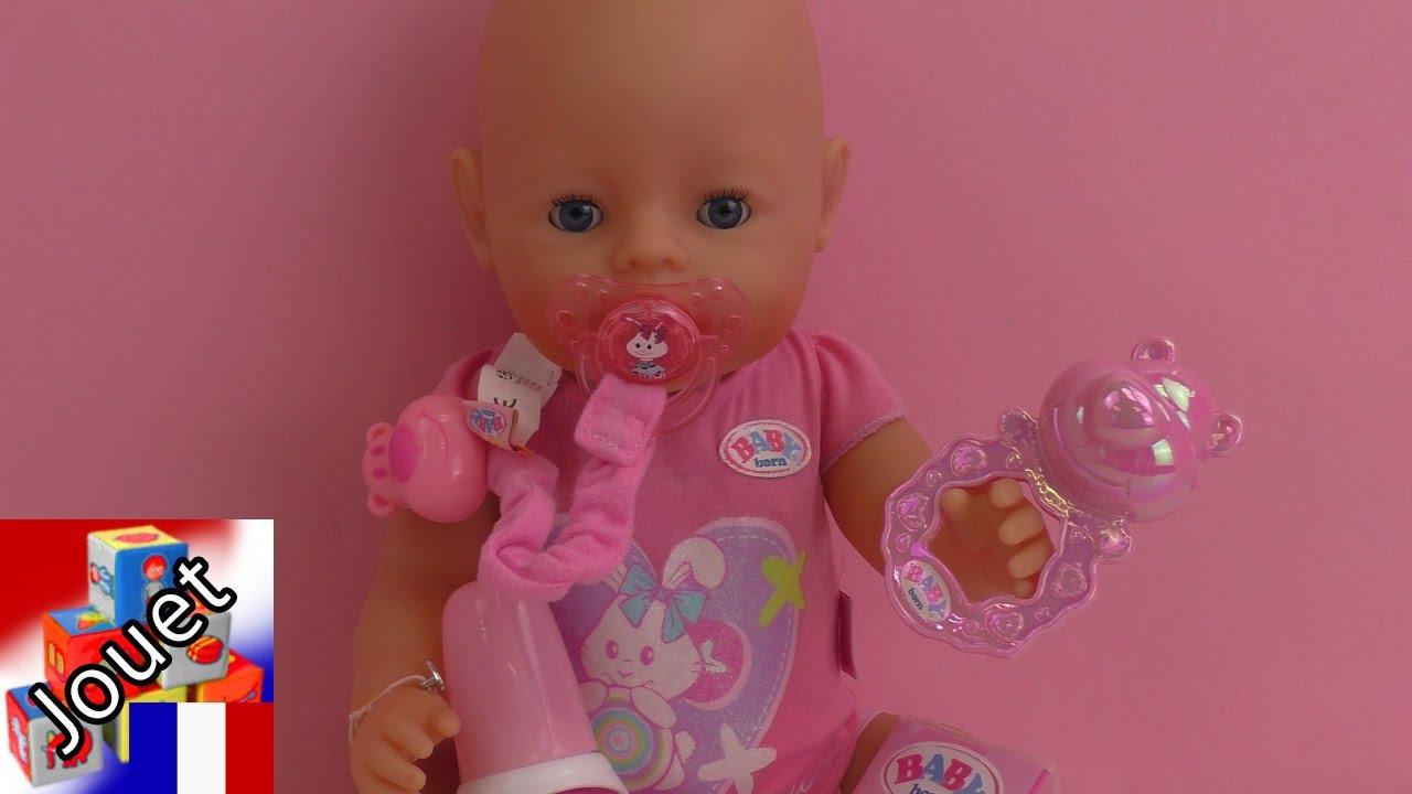 Jeu High Value Baby Born Interactif Avec Des Couches Une