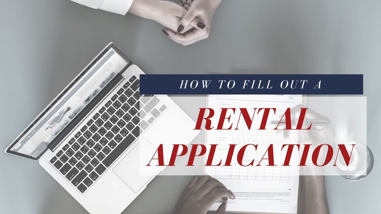 Style My Rental Episode: How To Fill Out A Rental Application
