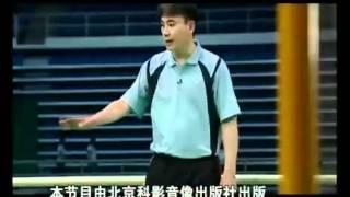 羽毛球教学 专家把脉【19】全场移动步法 网前小球