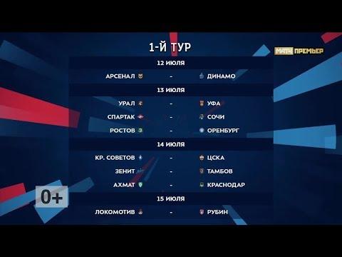 Российская премьер-лига. Обзор 1-го тура