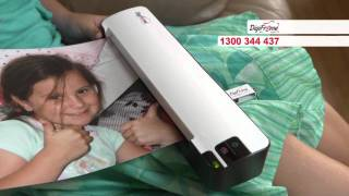 Digiframe Ezyscan A4 Rechargeable Scanner 'child' Commercial