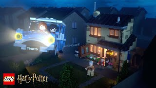Rescue From No. 4 Privet Drive – LEGO® Harry Potter™