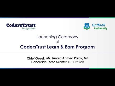 Launching Ceremony of CodersTrust Learn & Earn Program