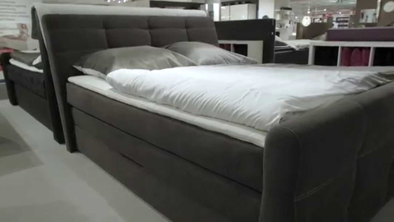 trends boxspringbett paolo youtube. Black Bedroom Furniture Sets. Home Design Ideas