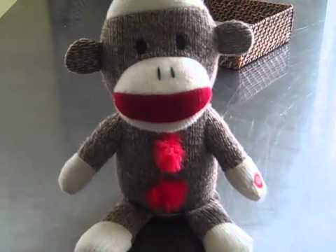 1990-now Musical Sock Monkey Toy