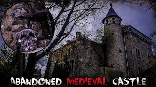 (FOUND HUMAN SKULLS IN THE BASEMENT) EXPLORING OLD ABANDONED MEDIEVAL CASTLE