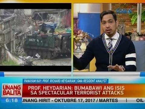 UB: Panayam kay Prof. Richard Heydarian, GMA Resident Analyst