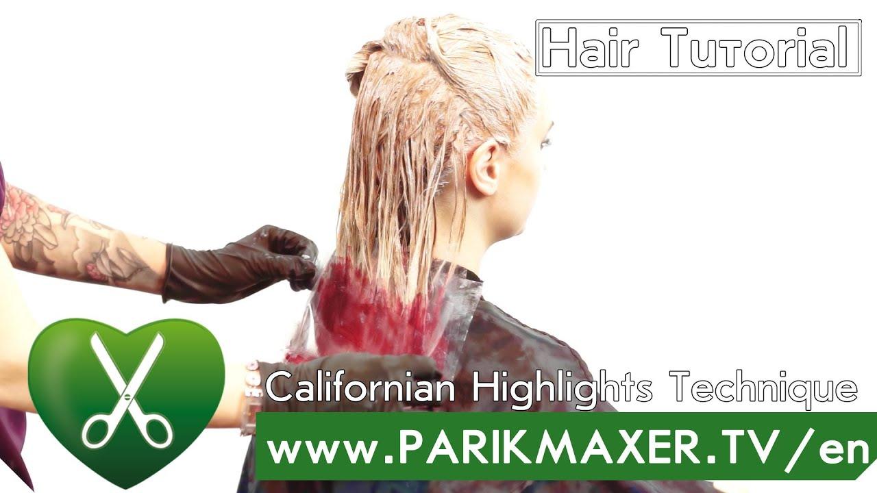 California Highlights Technique Parikmaxer Tv English Version Youtube