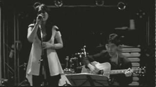 FWPシンガーCIGIとライブでこの日初共演した俳優兼ギタリストの新涼平さ...