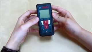 видео Лазерный дальномер Bosch GLM 50 Professional