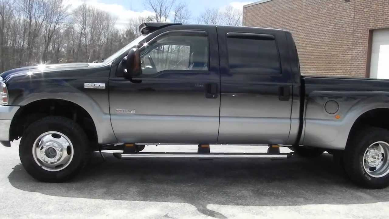 2005 Forf F-350 Lariat Dually SHORT BED 6.0L Powerstroke ...