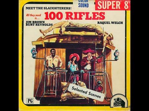 100 RIFLES  -  Super 8 Digest Film - RAQUEL WELCH