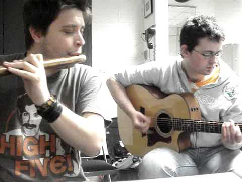 Jig on a William Miller E major flute - Zac Leger and Diarmaid Hurley