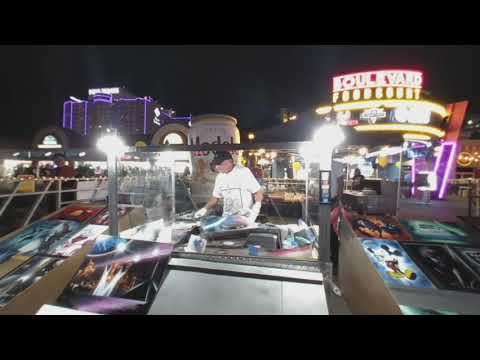 Watch in VR 008: Spray paint street art in Las Vegas