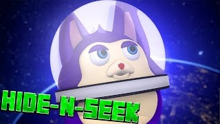 TATTLETAIL IN SPACE!? Minecraft HIDE N SEEK