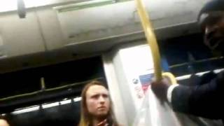 NEW! | Racist Lady on a London UK tram!
