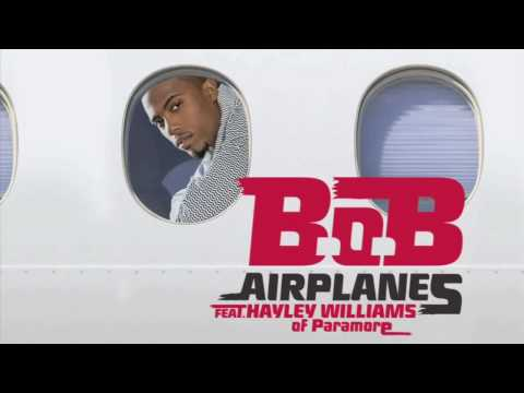 B.o.B ft. Hayley Williams- Airplanes (official audio)