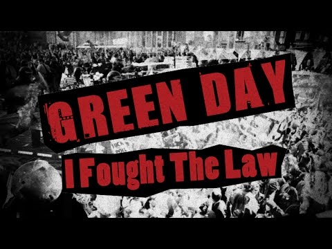 Green Day - I Fought The Law (2004)