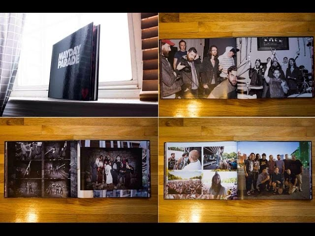 Mayday Parade Photobook Available *NOW*!!! (Link in description)